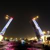 【ロシア】ユーリ聖地巡礼の旅24(跳ね橋ナイトクルーズ)
