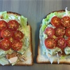 ローストチキンのサンドイッチ