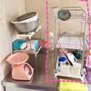 【じっかたづけ】台所の水切りカゴを変えました(*^^*) 1,000円のわりに、けっこういいかも!?
