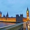 英仏旅行記05 ロンドン夕景、ビッグ・ベン、そして雨