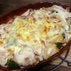 【今日のごはん】ブロッコリーとゆで卵のグラタンで温まる