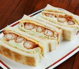 老舗喫茶「コンパル 大須本店」のサンドイッチは名古屋の宝です【テイクアウトして新幹線で】