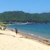 10連休日記 後半編 (1)釣り日和の栗田浜でキスの大物が釣れました!