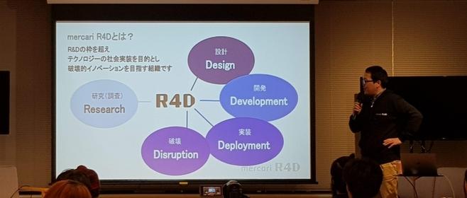 「破壊」からはじまる未来!メルカリの研究開発組織「R4D」のイベントに参加してきたよ #メルカリな日々 2018/05/23 #mercariR4D
