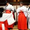 阿蘇神社もお正月準備