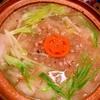 白菜と豚バラ肉の冬瓜&雑穀・塩蕎麦あんかけ鍋