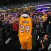 ちょうど一年前の今日。NBAの一番星が消えた夜。コービー・ブライアント編