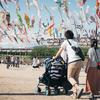 大阪府高槻市の「こいのぼりフェスタ1000」に行ってきました