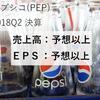 【決算18Q2】ペプシコが好決算を発表!
