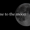 私を月まで連れてって!の巻