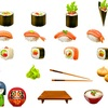 出前寿司vs手巻き寿司・・・こんな話をしている我が家は平和なんですね。