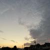 日没の西空