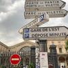 空港からパリ市内へ。治安が悪いという北駅を経由する!