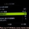 表示罫線・ピーキングの調整 MENUの変更② ハリ魔王高速シャッターモードの設定方法Ⅸ Tough TG-6+ NauticamTG-5〈TG-6〉
