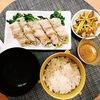 晩ごはん▶︎豆苗の肉巻き定食(豆苗は緑黄色野菜だった!選び方ってあるの?)
