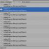 イベント登録時のオブジェクト削除