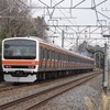 武蔵野線 209系500番台 試運転