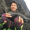 沼津市内の堤防でこのサイズのメジナが釣れました!