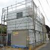 倉敷市玉島 鉄骨造ガレージ(2階建て) 工事状況