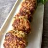 蒸し大豆とひき肉で作る!簡単「ハンバーグ」作り方・レシピ。