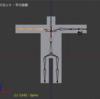 BVHファイル(モーションキャプチャデータ)をインポート!:Blender