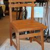 上質なチーク材も巧みな家具職人も希少な世の中に 家具職人の匠の技 オールドチークチェア