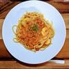 👑究極の海老のトマトクリームスパゲッティ