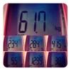 今週の体重、61.7kg。