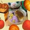 かぼちゃと紫芋のパフェ♪とかぼちゃのお友達♪