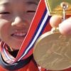 金メダル✨✨陸上競技60m走、30人中一位!