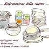 Sistemazione della cucina「キッチン収納」