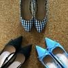 春の足音と春靴