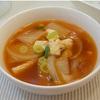 体が温まるイカと大根の韓国スープ