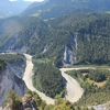 スイス観光 フリムス 馬車で森を抜けて辿り着くスイスのグランドキャニオン