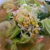 ラーメン食堂札幌の野菜味噌ラーメン