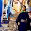 """女だけど男装着物で海外旅行!カラフルな青空美術館と着物姿が""""映える""""街。【バルパライソ編】"""