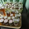<日本ミツバチ>今年の新ミツ
