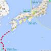 【前兆】2014年の台風19号は日本列島縦断し、数多くの地震の震源となる地点を「迂回」していった?