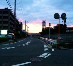 ★正雀の夕暮れ