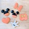 【クッキー】【ディズニー】かわいいミッキー型のアイシングクッキー作り!100均で買えるクッキー型が使える!