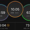 ジョギング10.05km・ウルトラパパの会のお知らせ&久しぶりのTペース走20分