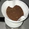 10/22 朝ごはん SCAJ RMTC ブラジルCOE北陸チームコーヒーと自家製パン、家庭菜園野菜付