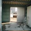 ゴミ置き場の作り替え1-10(軽量鉄骨造の超簡易納まり)