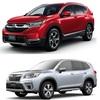 新型CR-Vと、新型フォレスターを、比較!サイズ、大きさ、広さ、燃費、価格差、予防安全性能、走りなど。どっちが良い車?