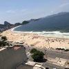 リオデジャネイロ ホテルからコパカバーナビーチを眺めて