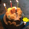 夏の誕生日にはアイスケーキ♪