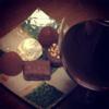 真夜中のブルネッロ・ディ・モンタルチーノとチョコレート【神の雫ワイン】
