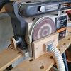 ベルト&ディスクサンダー集塵改造