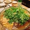 壱岐の「ひきとおし鍋を食べる会」へ