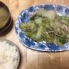 白菜と豚肉 鶏ガラスープ